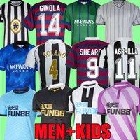 Newcastl E Retro Soccer Jerseys 21 22 Wilson 1984 1986 1988 1994 1995 96 97 98 99 2005 2006 Magpies Batty AsPrilla Barnes Shearer United Classic Football Shirt Top 2021