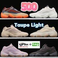 أزياء الصحراء الفئران 500 حذاء الركض عاكس enflame taupe ضوء العظام الأبيض حجر الرؤية الناعمة فائدة الأسود سوبر القمر الأصفر استحى الملح الرجال النساء أحذية رياضية