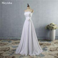 ZJ9016 Casual Dresses Women's Split Long Elgant Bride White Party Dress Sleeve Perspective Lace Female Pography