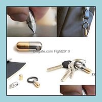 Hand Tools Home & Gardencapse Knife Sharp Keychain Micro Cutting Tool Function Open Can Keychains Pocket Cutter Pill Mini For Travel Hwd7302
