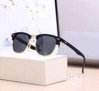 2021 CALIENTE CALIENTE CALIENTE Nueva marca Gafas de sol polarizadas Hombres Mujeres Piloto Gafas de sol UV400 Gafas de gafas Marco de metal Lente polaroid
