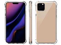 Transparent Phone Cases For iPhone 13 12 11 mini Pro MAX XS XR 8 7 Plus cover Sams S20 S21 A51 A71 A41 A32 A52 A72 TPU Protective