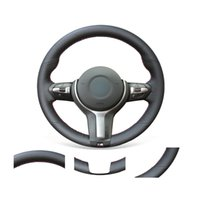 DIY Custom Hand Stitched Non-slip Durable Leather Steering Wheel Cover For BMW F30 F34 F22 F23 F32 F33