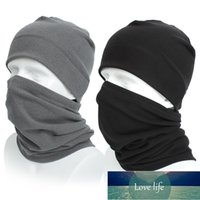 warm hat scarf Two-piece winter Knit Hat Wool Cap Unisex Washable and Reusable Mouth Face Warm Windproof Face Product Mask+Hat