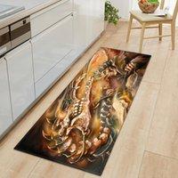 Длинные кухонные коврики Tapete Doommats Carpet Нескользящая антитуроназимо Дверина в ванной комнате Pad Pad Ploom Home Crows
