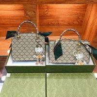 Роскошный дизайнер женские карамельные модные сумки сумки сумки из натуральной кожи буквы сумка Crossbody кукла кукла подвески сумка на плечо классический стиль с оригинальной коробкой