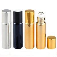 Rouleau de crème d'oeil d'huile essentielle de maquillage de 5ml de maquillage de maquillage sur les bouteilles de parfums