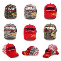 Trump Hat 2024 U.S Cappuccio elettorale presidenziale U.S Prendere cappelli retroilluminazione America Back Cappellini regolabili in cotone di ritorno in cotone