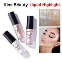 Kiss Beauty Highlights Lique Highlight Wearl Белый Мягкий Порошок Первый Золотой Брартитен Concealer
