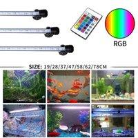 Gako aquário luz RGB RGB LED bar luz à prova d 'água luz subaquática aquário lâmpada para peixes tanque coral recife decoração iluminação y200922