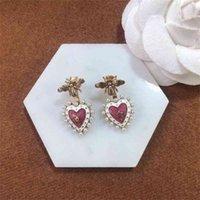 70 % OFF 판매 공장 상점 Di New Bee Heart Pearl Erings 패션 패션 인플루엔자