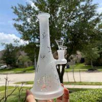 9 w kremu mleka biała fajka wodna rura bulga bubblera anime cartoon wirus twarz 14mm bowl bonga nas magazyn