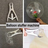Party Decoration Balloon Flares, Stuffer Machine For Flowers, Decorative Filling Pliers, Shredded Paper, Sequin Clips