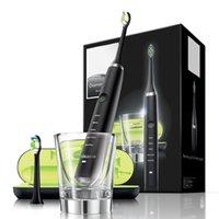 PH Sonicare الإلكترونية الماس نظيفة فرشاة الأسنان القوية بالموجات فوق الصوتية سونيك الكهربائية شحن شحن قابلة للشحن