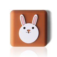 Cartoon Silicon Door Dumper Pad Thickened Household Sundries wall handle protection table corner rear cushioning mute and shockproof