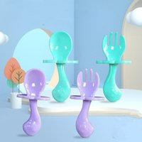 Cups, Dishes & Utensils Baby Tableware Set Portable Utensil Toddler Feeding Dinnerware Infant Training Cutlery Spoon Fork Gadgets Child