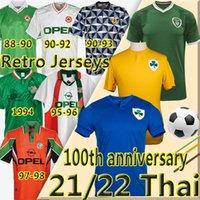 21/22 Irlanda 100th Centenary Soccer Jerseys SPCIAL 2021 2022 Duffy McClean Doherty Hendrick Retro Vintage 1988 90 92 94 95 96 97 98 Weltcup Klassiker Football Shirt