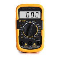 Multímetro DT830D + mini armazenamento digital osciloscópio trms handheld dso ds função gerador de sinal