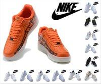 Nike Air Force 1 React Pixel Dunk Мужчины Женщины кроссовки Тройное черно-белые Низкие мужские Женские Тренеры Спортивные кроссовки бегуны Размер 36-45