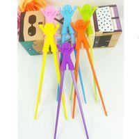 الأطفال عيدان البلاستيك الأطفال تعلم المساعد التدريب تعلم لعبة البلاستيك سعيد لعبة عيدان متعة الطفل الرضيع المبتدئين BWB9036