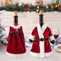 Рождественские украшения Фенритрис Винная бутылка для бутылки Веселого декора для домашнего стола 2021 Орнамент Год 2022 Навидад подарки