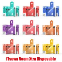 Original iTsuwa Voom Xtra Disposable Device Pods Kit E-cigarette 1500 Puffs 600mAh Battery 5ml Prefilled Cartridge Tank Vape Pen Bar Plus XXL Hot 100% Authentic