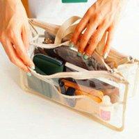 Nuevas mujeres Maquillaje Organizador Bolso Bolso Bolso Bolso grande Viaje Lady Casual Cosmetic Bag Viajes Multifunción Multifunción Storage1