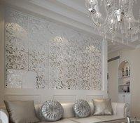 Pannelli a parete per tende appeso in legno cavo legno mobile soggiorno ingresso minimalista moda cinese schermo pieghevole