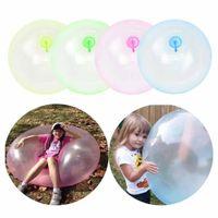 120 cm Süper Boyutu Açık Yaz Hava Su Kabarcığı Topu Blow Up Plaj Yard Balon Oyuncak Parti Oyunu Çocuklar için Şişme Oyuncaklar Hediyeler