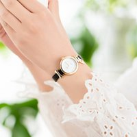 New Student Simple Decoration Watch, Minority Design, Pu Leather Small Dial, Fresh Literary and Artistic Women's Watch