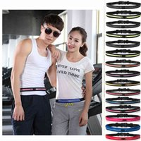 Travel Sports Fannypack Outdoor Stretch Sports Pack Men Women Portable Convenient Waist Pack Waterproof Phone Belt Bag VT2006