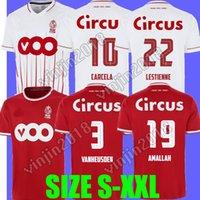 21 22 Estándar Liège Soccer Jerseys Edición especial 100 años Home Lestienne Amallah 2021 2022 R.Standard de Lieja Vanheusden Laifis Raskin Carcelá Camisetas de fútbol