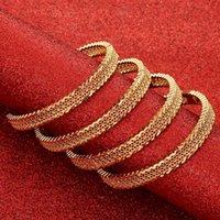 Bangle 24k Selling Gold For Women Dubai Bride Wedding Ethiopian Bracelet Africa Arabic Jewelry Charm