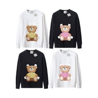 Womens Hoodies Letters Bears Praiting 여성 까마귀 긴 소매 풀오버 스웨터 망 점퍼 스트리트웨어 가을 의류 9 스타일