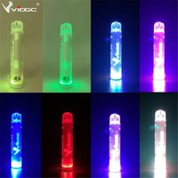 Vidge Flare Sigaralar Tek Kullanımlık Pod ile RGB Işık Cihazı 800 Puffs 500mAh 3 ml Kartuş Vape Kalem Seçmek için 10 Renkler