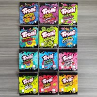 12 tipi BAG BAG TROLLI TRRLLI ERRLLI EDIBLES Gummies Imballaggio acido brite crawlers odore a prova di prova richiudibile cerniera cerniera 600mg dhl gratis
