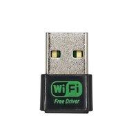 ميني واي فاي محول سائق مجاني 150Mbps USB W-IFI استقبال 2.4G شبكة شبكة لاسلكية IEEE 802.11B / G / N RE-1513B