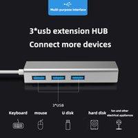 Bilgisayar Tipi-C USB Splitter Bir Sürükle Dört Dizüstü Çoklu Arabirim Dönüşüm Genişletme 4-Portlu Hub Dört Bağlantı Noktası Soket Adaptörü Klavye U Disk İnternet Bağlantısı