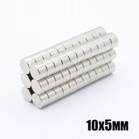 50pcs N35 Round Magnets 10x5mm Neodymium Permanent NdFeB Strong Powerful Magnetic Mini Small magnet