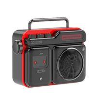 Outdoor Speakers PURIDEA Retro MOCA Radio Mini Wireless Speaker Bluetooth Audio Box Gift