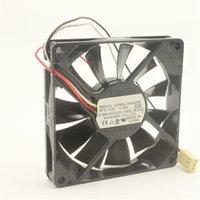 Ventilateur de refroidissement 3106KL-04W-B59 80 * 80 * 15mm 8015 8cm DC 12V 0,3A 3,6W 3750 tr / 3750 tr / min à 3 broches Ventilateur silencieux ultra-mince