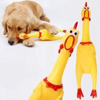 Screaming pollo spremere giocattolo suono giocattolo animali domestici giocattoli per cani Prodotto Strumento di decompressione Shrilling Strumento Schedatura Schermo POLLI