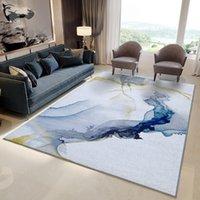 Северные ковры для гостиной толстый полипропиленовый коврик современный дизайн диван кофе ковровые коврики коврик