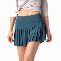 Leggings Women Yoga Shorts Align Sports Skirt Outdoor Fitness Running Fast Dry Anti Light Lined black