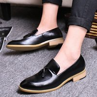 Goodrsson Socialcelebrity Mens Sapatos Tassel Personalidade Moda Mens Sapatos Casuais Compras confortáveis Menshoes Sapatos Homens R4cf #