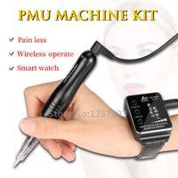 Tattoo Guns Kits Machine Semi-Permanent Makeup Full Throw One Smart Watch For Eyebrows Lips Eye Line Complete Kit