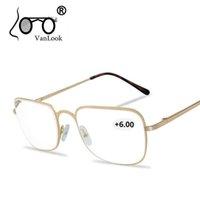 Reading Men Women +450 +500 +550 +600 +650 +700 +750 +800 Stainls Steel Eyewear Gafas de Lectura Cheap