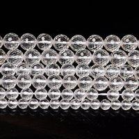 Cristal blanc naturel Perles dispersées 128 Couper Rond Diamond Bijoux Bijoux Rideau