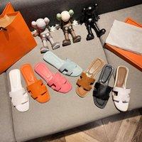 Chaussons Hermès pour hommes classiques pour hommes, de plage cuir d'été, pantoufles à pointe ouverte pour hommes, grande taille 38-45