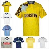1982 1990 1991 1992 1994 1998 1999 Tottenham Retro Bale Futbol Forması Spurs Klinsmann Gascoigne Anderton Sheringham 91 92 94 95 Klasik Vintage Gömlek Üniformaları